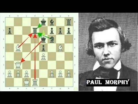 Paul Morphy's 17 moves brilliancy - A Night at the OPERA