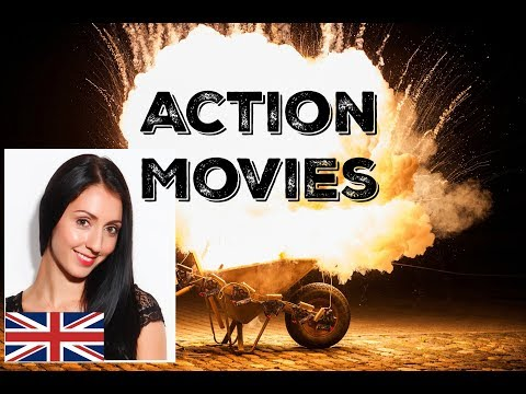 ACTION MOVIES / FILMS: Live English Lesson / Learn British English
