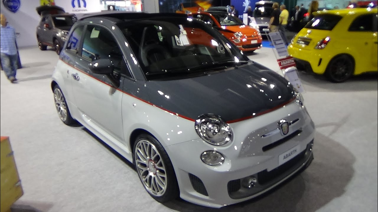 2016 abarth 595 turismo exterior and interior z rich car show 2015 youtube. Black Bedroom Furniture Sets. Home Design Ideas