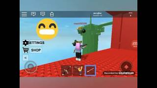 Playing Doomspire Brickbattle on Roblox!!