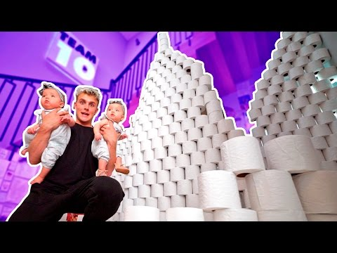 10,000 TOILET PAPER ROLL FORT