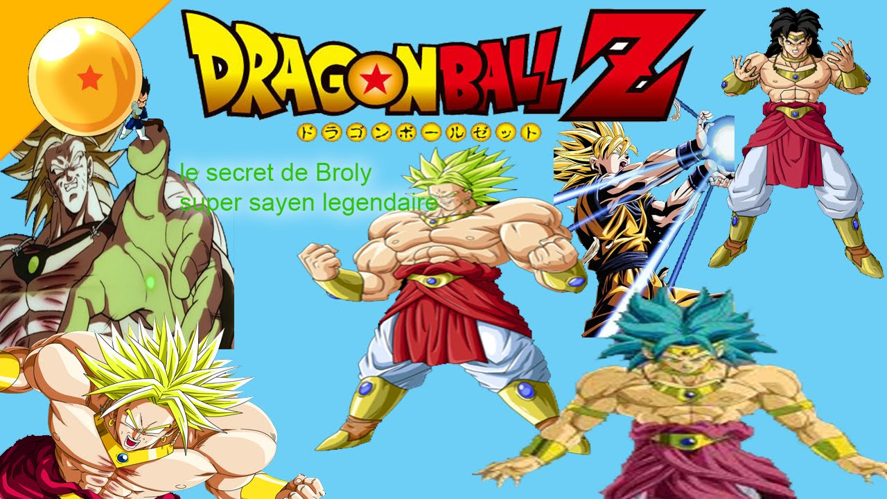 Le secret de broly super sayen l gendaire hypoth se th orie analyse youtube - Sayen legendaire ...