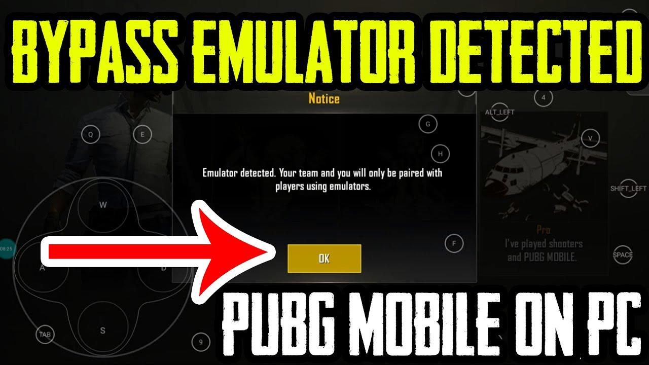 Bypass Emulator detection PUBG Mobile ON PC
