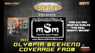 Martae Ruelas IFBB 212 Pro Olympia Interview