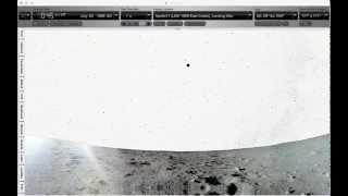 La Terra vista dalla Luna appare ferma nel cielo