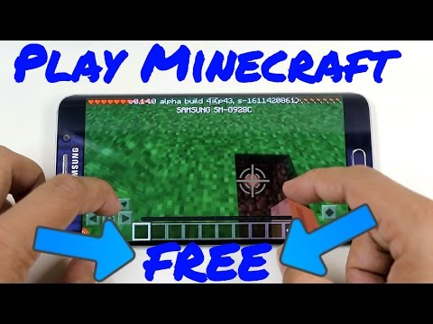 How to download Minecraft on Android FREE - 2017