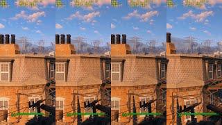 Fallout 4 GTX 750 FX 6300 FPS на разных настройках графики