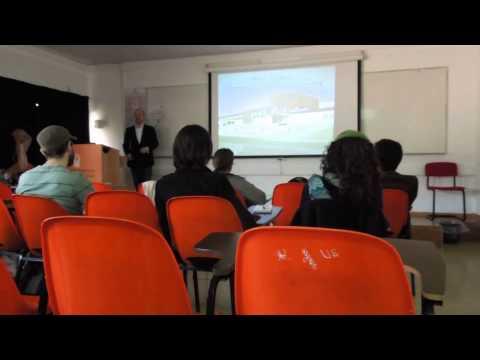 Dr. Robert Huish lecture at MSIH February 2012