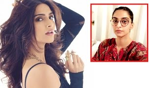 Sonam's pictures LEAKED from the sets of Akshay Kumar's Padman!