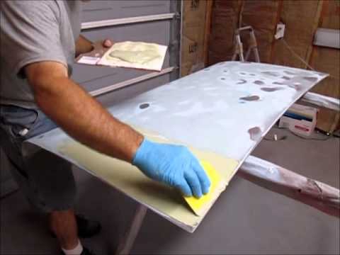 How To Repair Body Panels With Filler (bondo) And Prep For Paint. Part 1