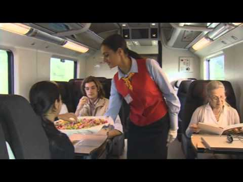 """Trenes """"Le Frecce"""" (Las Flechas) de Alta Velocidad italiana"""