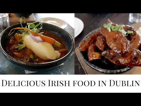 Eating and Exploring Dublin, Ireland | Irish Breakfast, Guinness Irish Stew, Scones, and more!