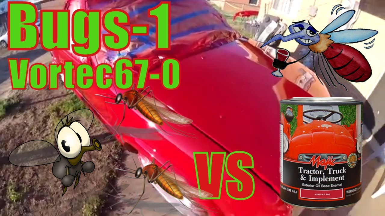 Tractor Supply Majic Paint Vs Mosquitos Bugs Youtube