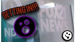 LJ Vlogž (Getting into the Fox 21 News Set!!)