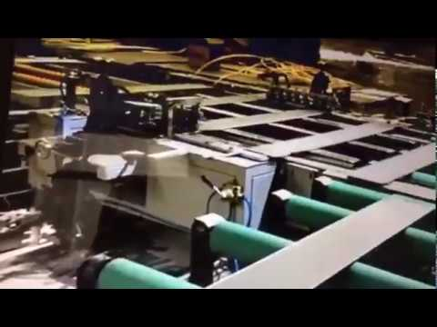 PVC SPC Flooring Tile Backside Layer Laminating Machine