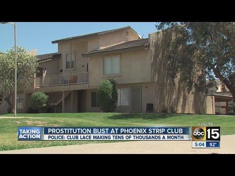 Prostitution bust at Phoenix strip club