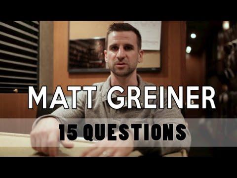 Matt Greiner   August Burns Red   15 Questions