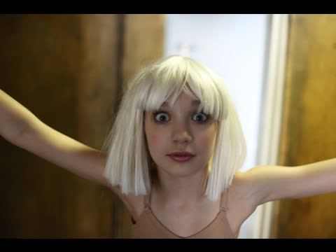 Behind The Scenes Pics Of Sia S Chandelier Music Video