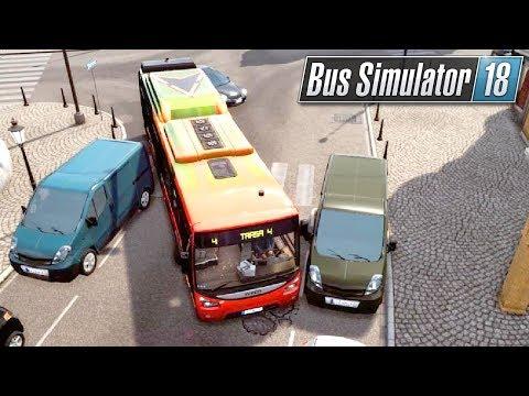 Ale Się Zblokowałem! | Bus Simulator 18 (#9)