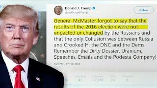 Trump blasts FBI, links Florida shooting to Russia probe in weekend tweetstorm