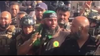 Iraq, Fallujah - Video Message from Abu Azrael in Fallujah Area