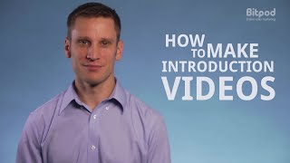 How to make an introduction video - Video marketing for business #5