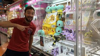 UFO CATCHER du JAPON en LIVE 🇯🇵 Challenge  & Pokemon