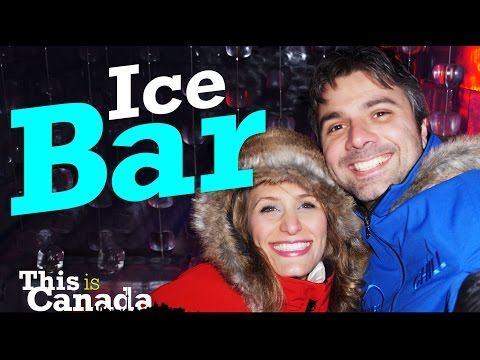 This is Canada - Ice Bar