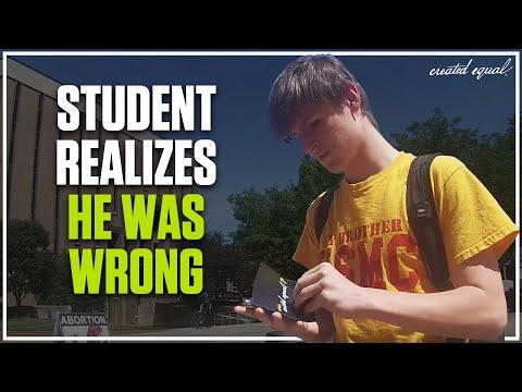 Pro-Choice Student + Science + Reason = Pro-Life Student