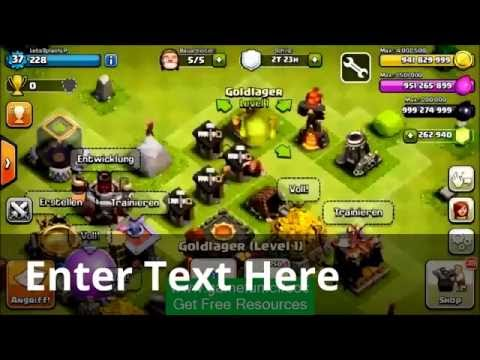 Clash Of Clan HACK FREE Every Thing ...