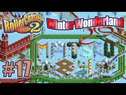 Let's Play RollerCoaster Tycoon 2 (Winter Wonderland) - Ep. 17: POLAR BEAR COASTER
