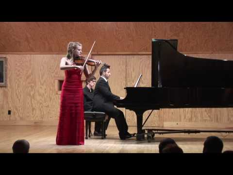 Beethoven: Concerto for Violin in D Major, Op. 61 - Genevieve Smelser