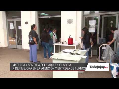Se hizo una mateada en el Pablo Soria para protestar por el conflicto de los turnos