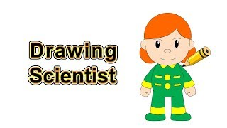 Drawing Scientist @ Citi Heroes Cartoon