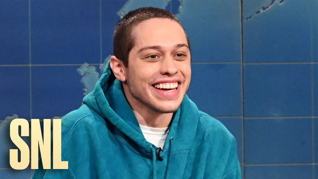 Pete Davidson has something to say about Chrissy Teigen