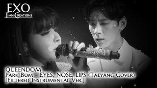 Park Bom - EYES, NOSE, LIPS (Instrumental Ver.) [QUEENDOM TAEYANG COVER]