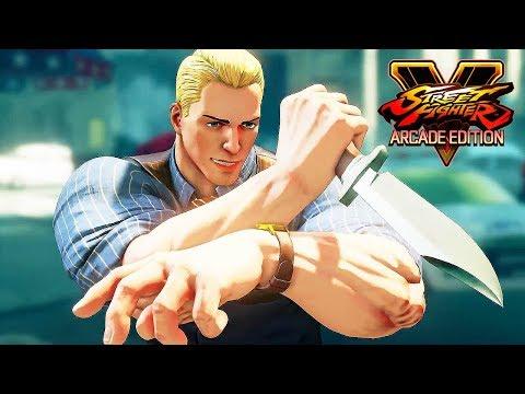 Street Fighter 5 Arcade Edition - CODY Reveal Trailer @ 1080p (60ᶠᵖˢ) HD ✔