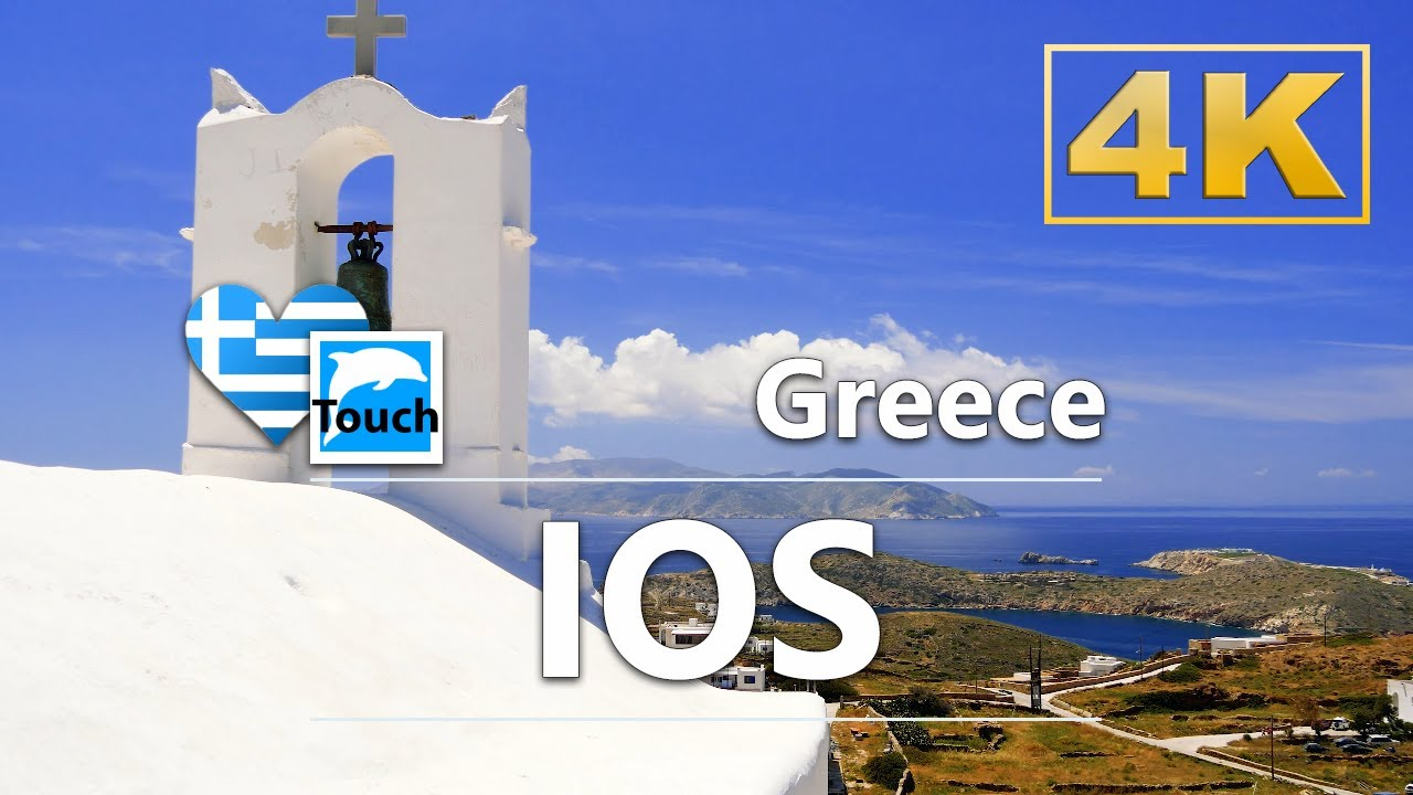 Ios (Ἴος), Greece ► Video Guide, 27 min. Overview 4K