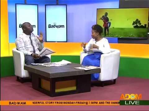 Badwam Newspaper Review on Adom TV (18-4-18)