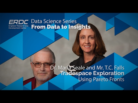 Data Science Series -  Tradespace Exploration Using Pareto Fronts