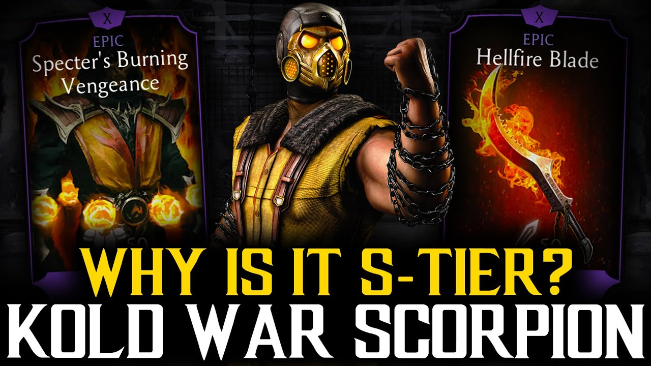 MK MOBILE : WHY IS KOLD WAR SCORPION ONE OF THE BEST DIAMOND CARDS EVER?!