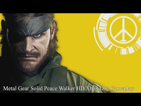Metal Gear Solid Peace Walker HD - Xbox...