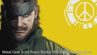 Metal Gear Solid Peace Walker HD - Xbox One Gameplay (1080p/60FPS)