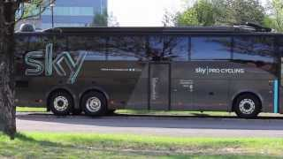 Day in the Life of a Team Sky Bus Driver