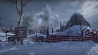 Call of Duty: WWII Official Ardennes Multiplayer Map Flythrough - E3 2017