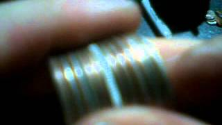 Junk Silver Fake State Quarter, Aluminum? Platinum Plated?  What?