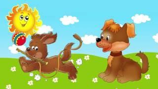 Развивающий мультик для самых маленьких - Изучаем животных в стихах.