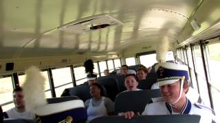 Band Trip - Us singing our school song (our parts we play)