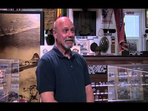 Illinois Stories All Wars Museum Mural WSEC-TV/PBS Quincy