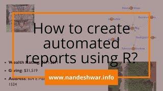 Wie Erstellen Sie Automatisierte Reports Mit R?
